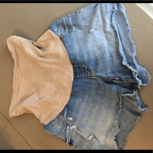 Maternity Cut-Off shorts - Jessica Simpson size S